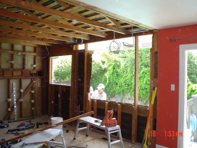 High Tech Construction Garage Remodeling